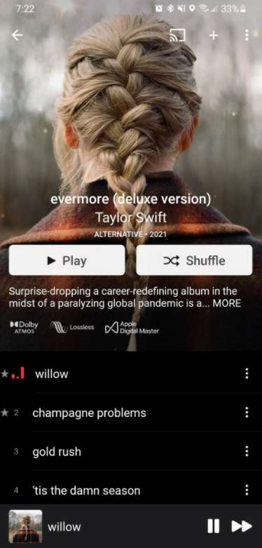 Apple Music for Android 支持无损音频啦!